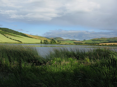 Yetholm Loch. Photo by Graeme Watson.