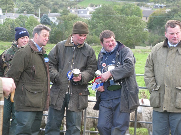 Cup-winners at Yetholm Show.
